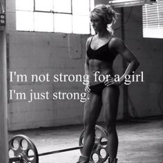 Im just strong