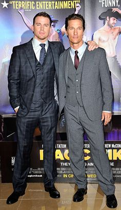'Magic Mike' (Dressed) and More Red Carpet Style