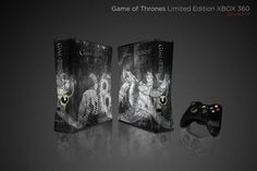 Games of Thrones Limited Edition XBOX 360--- I don't even play video games that much, but this is kinda awesome.