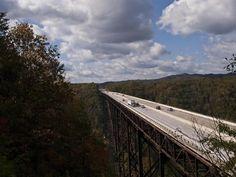 river gorg, bridg
