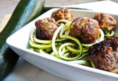 Baked Apple & Pork Meatballs Recipe | Eat Drink Paleo - omit white pepper