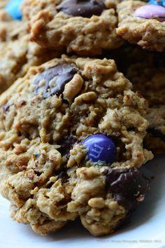 Gluten Free Monster Cookies Recipe makes 10.