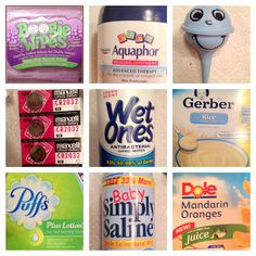 Mommy Mia Monologues: Top 20 Must-Have Items for Sick Baby or Toddler (2013)