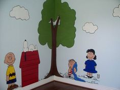 When I have kids, I want my Mom to paint this on the wall in their room!!! This is so cool!!!!