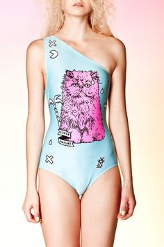 Go Crazy For Pastel Persian Cat Fashions by QooQoo