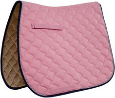 Navy and Pink - Roma Ecole Diamond Wave Close Contact Pad - English - from Chick's Saddlery