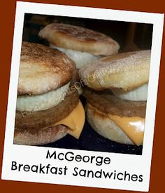 FoodThoughtsOfaChefWannabe: Start YOUR day with a McGeorge!