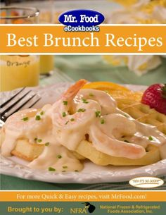"""Holiday brunch is made easy with @Mr. Food Test Kitchen's   """"Best Brunch Recipes"""" e-cookbook! #HolidayHelper"""