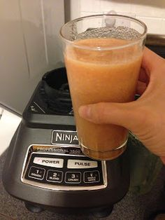 Watermelon carrot apple juice, courtesy of my new Ninja blender!
