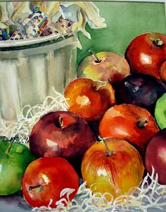 sharon bangerter watercolors & acrylics: Still Life