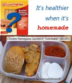 healthy homemade lunchable