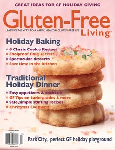 Gluten Free Living. Such a fabulous resource for all things GF.