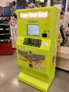 Self Service keys