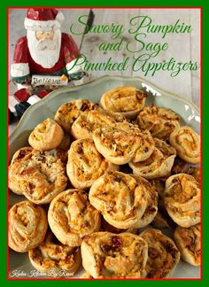 Pumpkin and Sage Pinwheel Appetizer Recipe