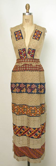Russian Apron http://www.metmuseum.org/collections/search-the-collections/80061811 -- for Sonia