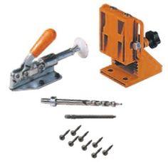 -Amazon-  CMT PPJ-002 Pocket-Pro Pocket Hole Jig Starter Set  $65.45