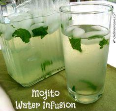 Mojito Water Infusion