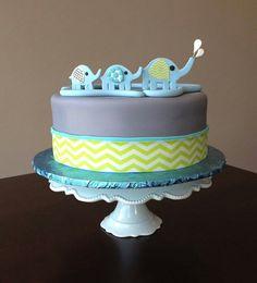Elephant elephants, babi birthday, craft cakeri, birthdays, the craft, baby birthday, anim cake, crafts, birthday cakes