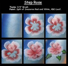 Correction of the lovely Rose Step by Step