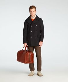 Jack Spade | Arno Leather Mitchell Duffle jack spade, leather mitchel, leather duffl, arno leather, mitchel duffl