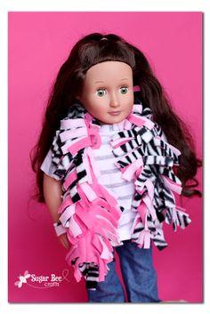 American Girl Doll scarf