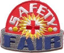 Safety Fair (Red Siren) Fun Patch