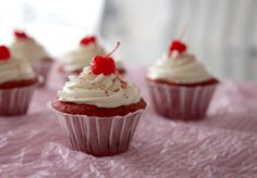 Red velvet cupcakes (en español)