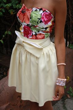 florals and bows