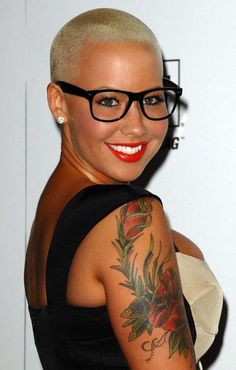 amber rose on pinterest amber rose amber and buzz cuts