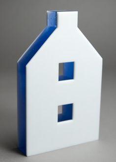 House by Jane Bruce. 2008? Kilnformed glass.