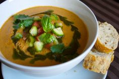How to Make Fresh, Healthy Gazpacho to Cool Down This Summer | One Green Planet