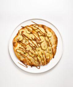 Banana-Caramel Tortilla Tarts
