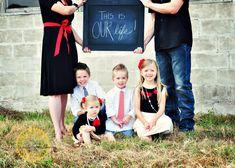 family pose - Cute!