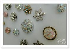 old jewelry magnets
