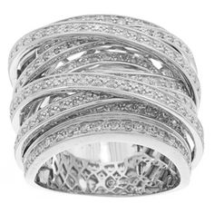 @Overstock.com - Diamond wide crossover ring10-karat white gold jewelry Click here for ring sizing guidehttp://www.overstock.com/Jewelry-Watches/Beverly-Hills-Charm-10k-White-Gold-1-1-2ct-TDW-Diamond-Wide-Crossover-Ring/6051544/product.html?CID=214117 $2,256.99