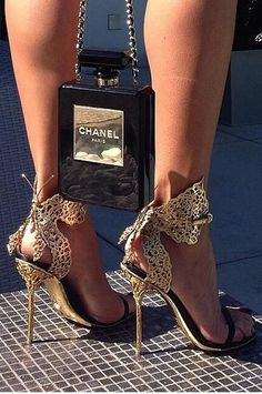 Love the shoes! Chanel
