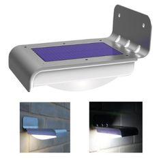 home / campsite wireless solar powered motion sensor detector light