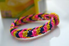 How to make a cool friendship bracelet out of seven cord strands – Pandahall idea, strands, cord strand, craft project, diy bracelet, friendship bracelet patterns, jewelri, cords, friendship bracelets