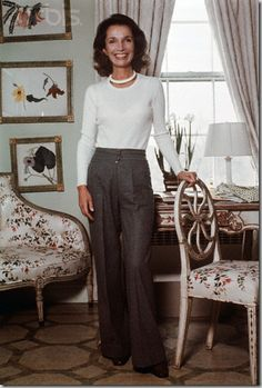 Here in her bedroom at Fifth Avenue in 1976 after her divorce from Stas via cote de texas