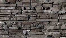 """Eldorado Stone - Stacked Stone    Very rustic... """"castle-sk"""".... would look fantastic with patina steel"""