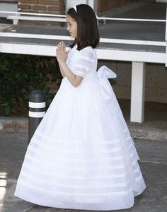 royal communion dress