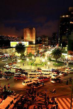 Plaza del estudiante, La Paz, Bolivia