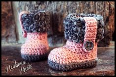 Newborn Knots #crochet pattern giveaway and sale - baby booties