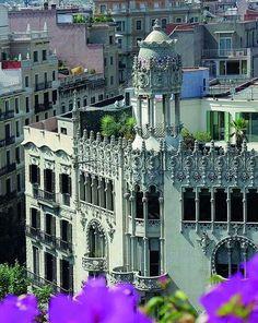 Quadrat dor, Barcelona