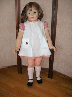 Original Patti Play Pal Doll - marked G35 Ideal Doll on her back - Ideal