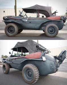 VW amphibious vehicle