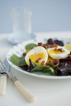 Pancetta & Egg Salad