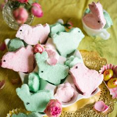 How to make marshmallow peeps at home.