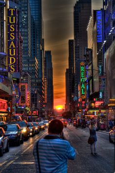 Theater district, NYC