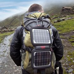 Voltaic: Charge Devices On The Go With This Portable Solar Charger -The versatile Voltaic solar charger is really compact and travel friendly. It's also waterproof, lightweight and designed for a bit of action.